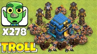"YOU WONT BELIEVE THIS ""Clash Of Clans"" GOBLIN MASS vs. TOWN HALL 12!!"