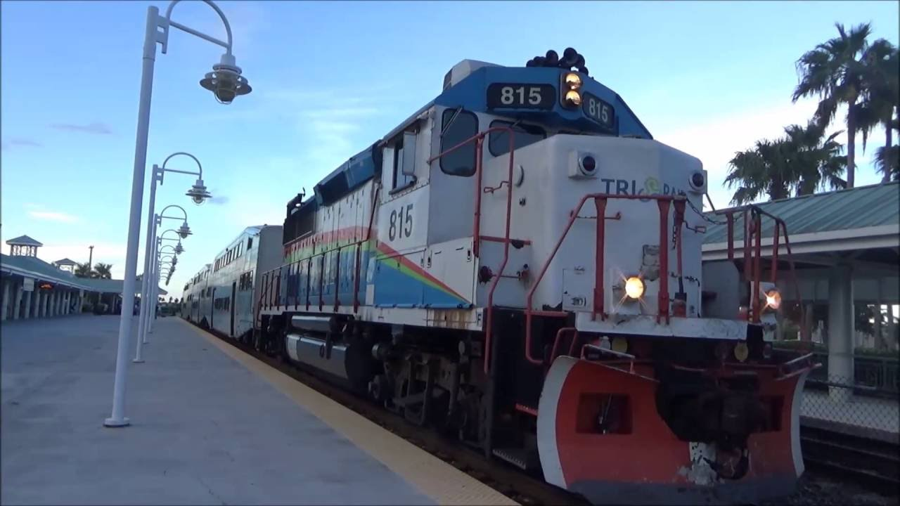 railfanning at the fort lauderdale train station with