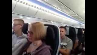 Thomson boeing 787 dreamliner to Sanford Orlando
