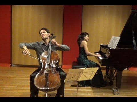 F.Schubert - Arpeggione Sonata by Roger Morelló & Fuko Ishii