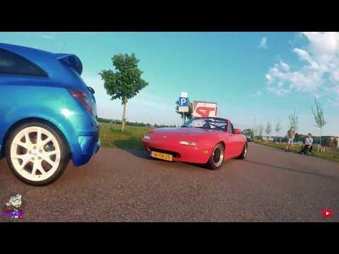 Фото ????????Fpv Chasing Opel Corsa Opc & Mazda Mx5