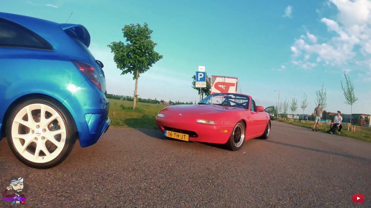 ????????Fpv Chasing Opel Corsa Opc & Mazda Mx5 фотки