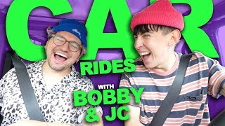CAR RIDES with BOBBY and JC!!