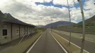GoPro Time Lapse Mont Blanc Tunnel