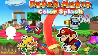 Paper Mario: Color Splash Part 1 - Port Prisma! (Nintendo Wii U)