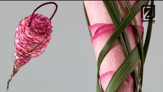 Repeat youtube video Rose floral Bridal bouquet How to Make tutorial