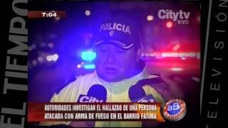 Asesinato barrio fatima. Historía completa  CityTv   Arriba Bogotá  Febrero 1.mov