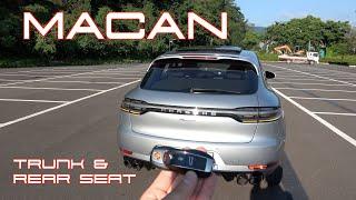 포르쉐 더 뉴 마칸 트렁크 & 2열(Porsche The new Macan Trunk & Rear seat)