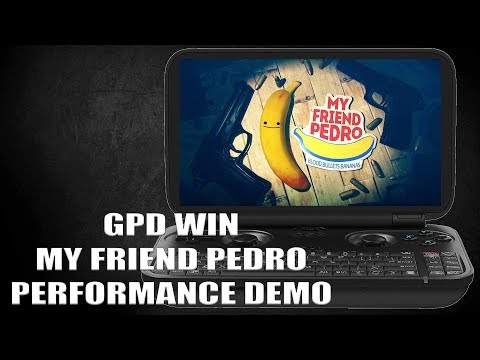 GPD WIN - My Friend Pedro - Performance Demo Over 30fps (Intel Atom Z8700)
