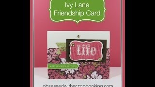 Close to My Heart Cricut Ivy Lane Friend Card Kit-Art Philosophy