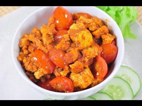 น้ำพริกอ่องเจ (อาหารเจ) Thai Northern Style Chili Paste l FoodTravel