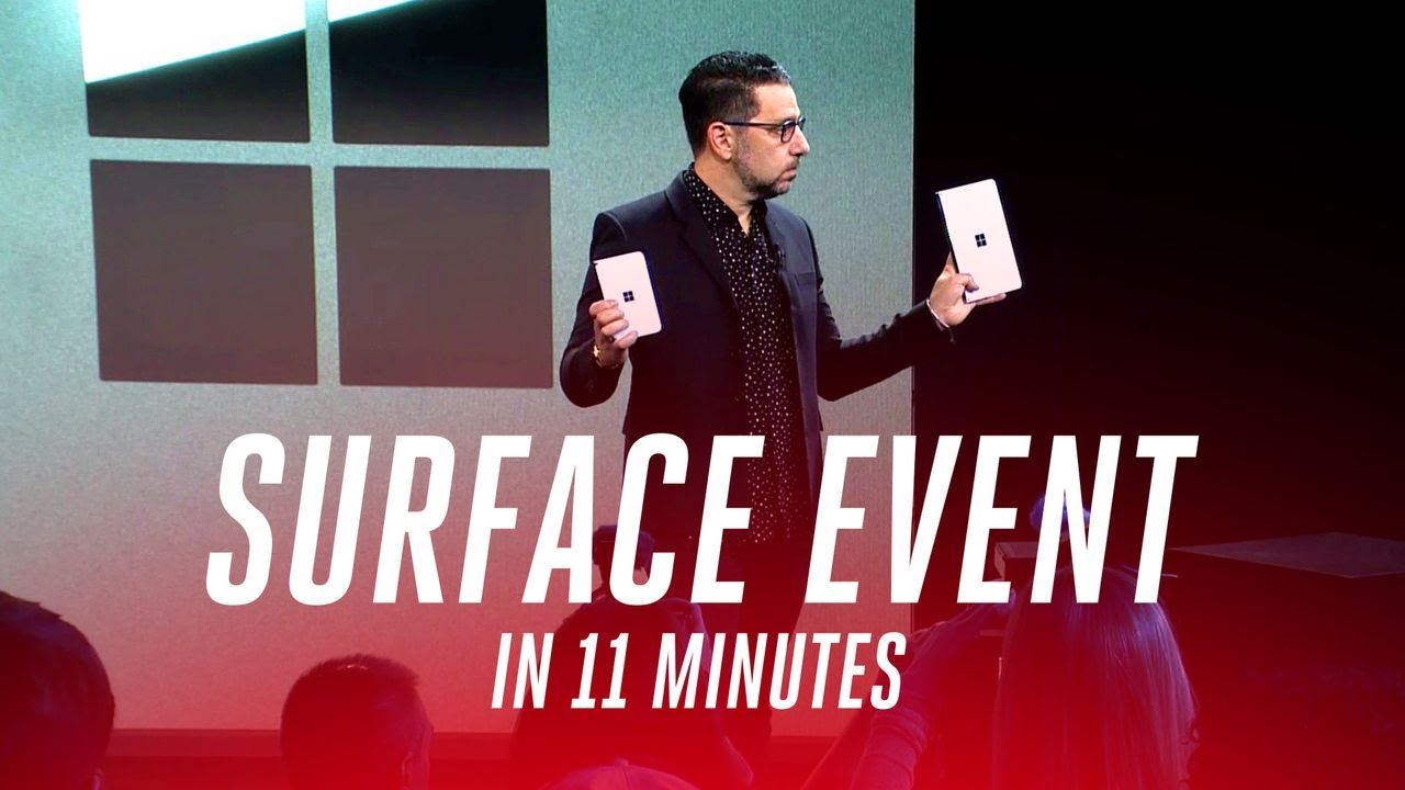 Yes, the Microsoft phone is really happening: Introducing the Surface Duo