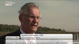 Ermittlungen zum Fall Peggy: Statement von Joachim Hermann am 14.10.2016