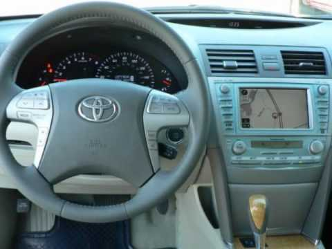 2007 toyota camry xle v6 navigation milford boston ma massachusetts youtube. Black Bedroom Furniture Sets. Home Design Ideas
