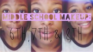 Back-to-School Series: Middle School Makeup // 6th,7th,& 8th! Thumbnail