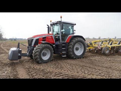 Download Massey Ferguson 8S 265 Dyna 7 i Dyna E Power - sprawdzamy je w polu