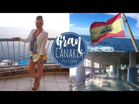Gran Canaria Wellness Trip Vlog #1 | Aphrodite Boat Trip & Aloe Wellness Spa ♡ | brogantatexo