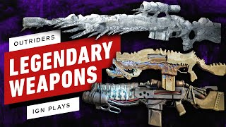 Outriders Legendary Weapons: Thunderbird, Mauler, \u0026 Iceberg Detailed By Developer - IGN Plays