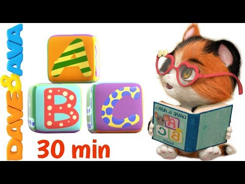 📚ABC Song | Baby Songs & Nursery Rhymes by Dave and Ava 📚