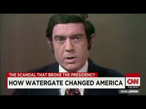 Rather: Nixon 'headed a widespread criminal conspira...