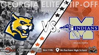 Georgia's Elite 8 Tip-Off Classic: McEachern vs. Wheeler - (Sharife Cooper vs. EJ Montgomery)