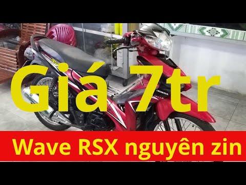 Wave RSX Nguyên Zin Giá 7tr Hổ Trợ Trả Góp 0%.