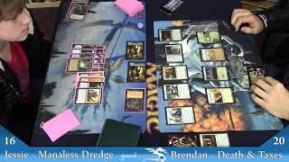 Manaless Dredge Vs Death and Taxes