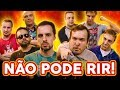 NÃO PODE RIR! - com COMEDIANTES (Léo Lins, Fábio Rabin, Gigante Leo e Estevam Nabote)