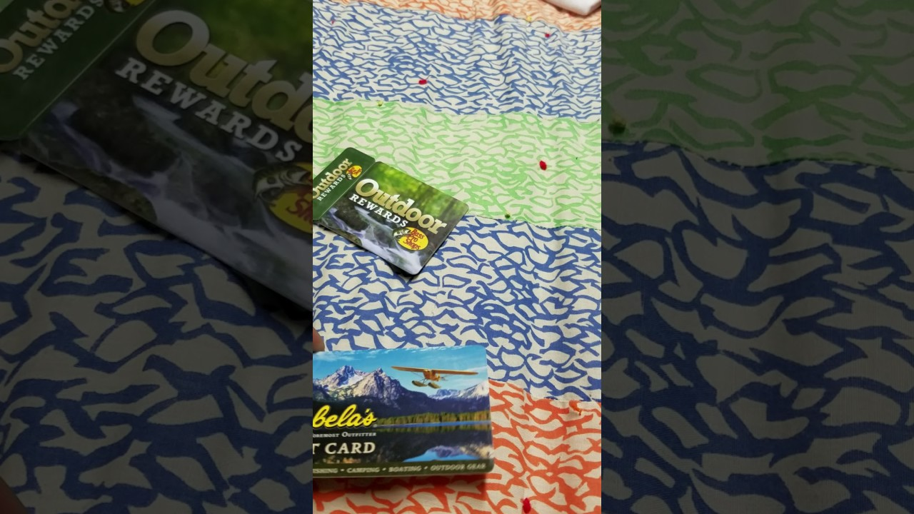Bass pro shop and Cabelas gift cards - YouTube