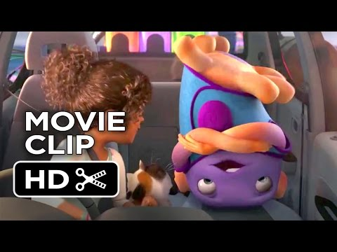 Home Movie CLIP - Uncontrollable Alien Dance (2015) - Jim Parsons, Rihanna Animated Movie HD