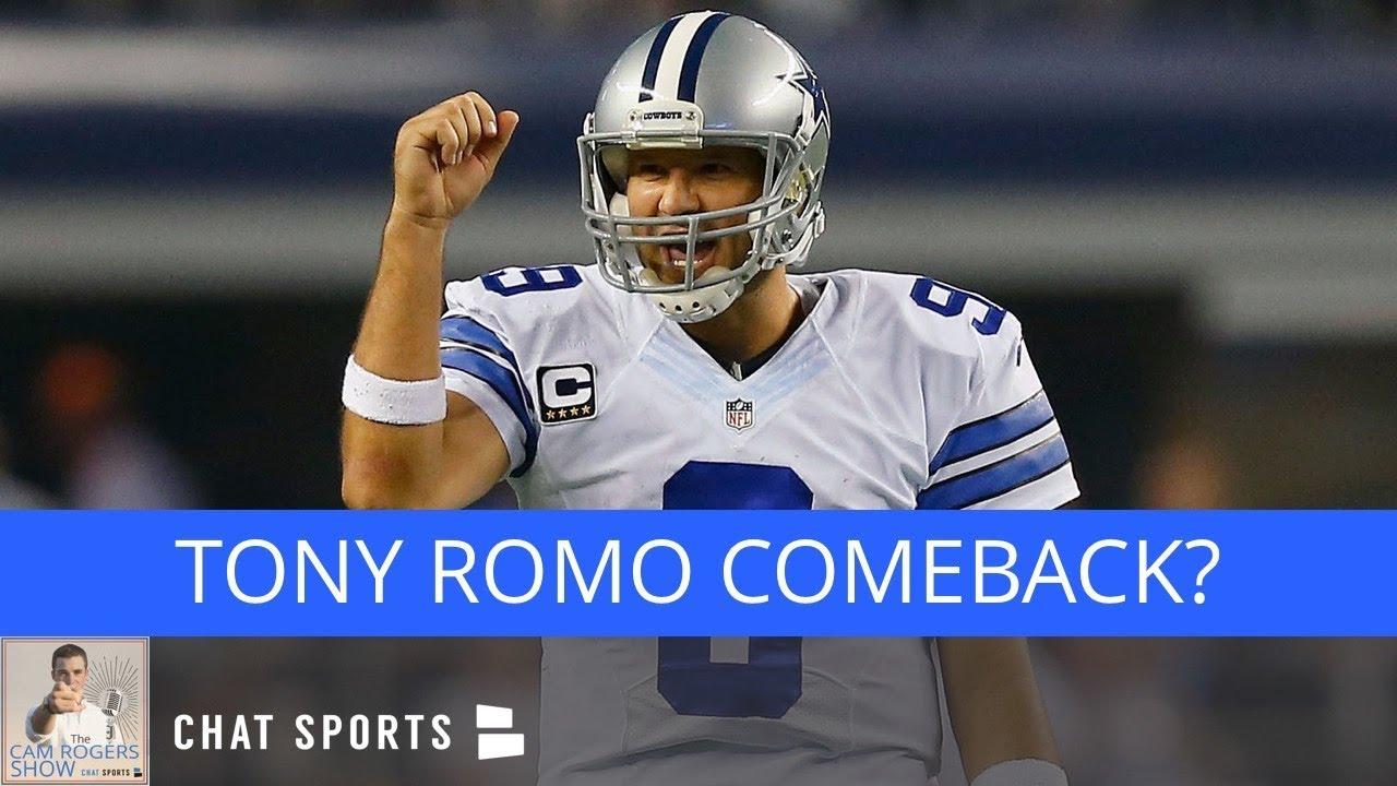 Nfl Rumors Tony Romo Comeback Colin Kaepernick Signing Dez Bryant News