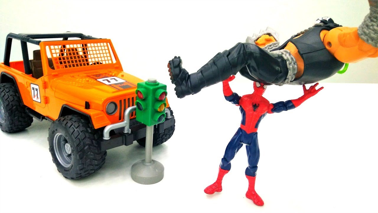 Супергерои и Пираты - Человек Паук учит Бэйна. Видео для ...