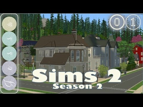 #⓪❶ Sims 2 Let's Play, Season 2-01 ~ Decorating: Little Willie's House ~ Mama Style