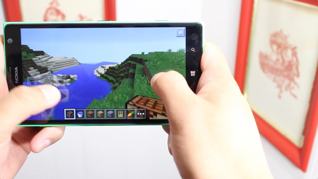 Minecraft на windows phone 10
