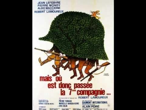 Mais Ou Est Donc Passé La 7éme Compagnie '  La 7éme Compagnie Aux Grandes Manoeuvres  1973