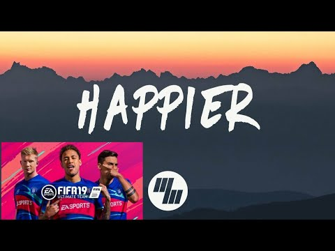 Marshmello ft. Bastille - Happier - FIFA 19