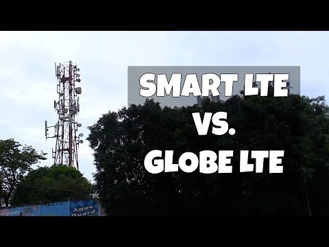 Smart VS. Globe Mobile Internet