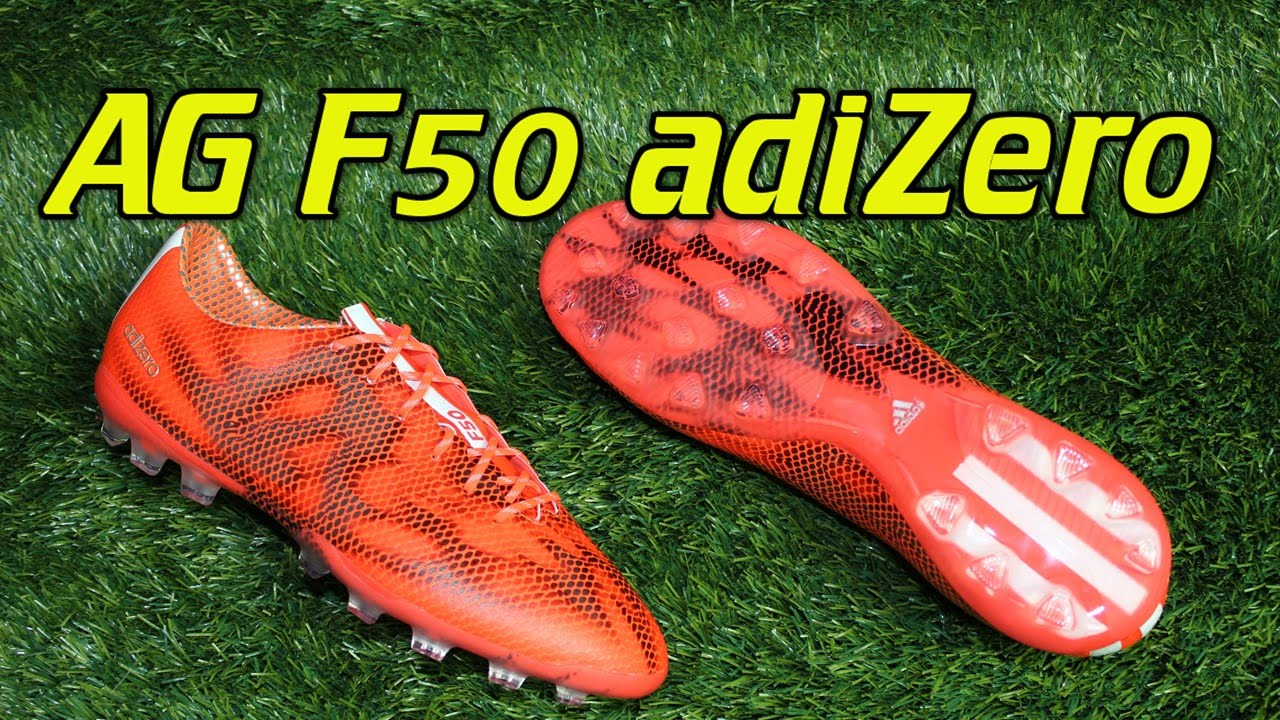 timeless design a6f84 0a0a5 AG Adidas F50 adizero 2015 Solar Red - Review + On Feet - YouTube