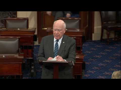 Senator Patrick Leahy (D-Vt.), On the Duplicity of the Double Standard