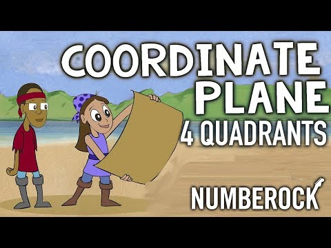 Coordinate Plane Song ★ Ordered Pairs All 4 Quadrants ★ NUMBEROCK