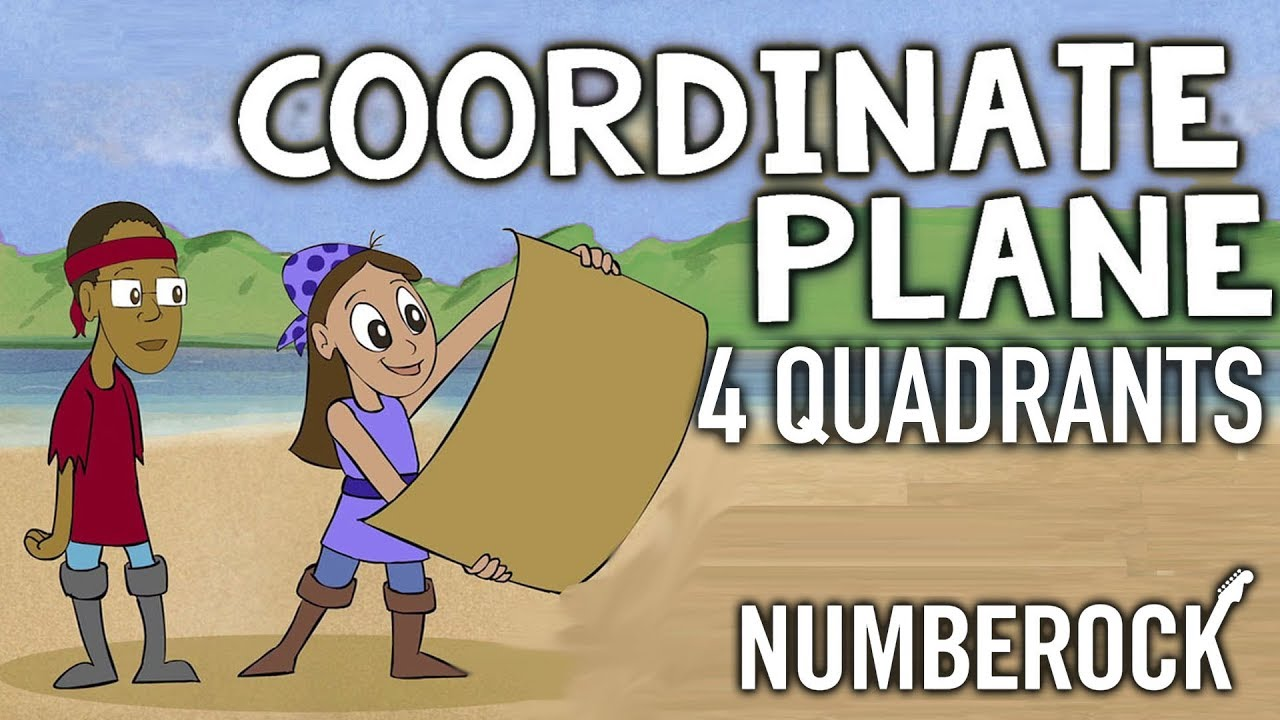 Coordinate Plane Song ☆ Plotting Points on all 4 Quadrants - YouTube