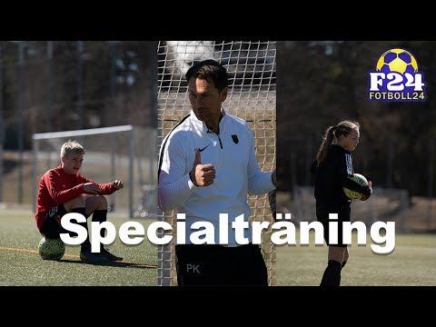 Specialträning med fotbollstalanger: Lucas Bergvall och Maja Wangerheim - Fotboll24