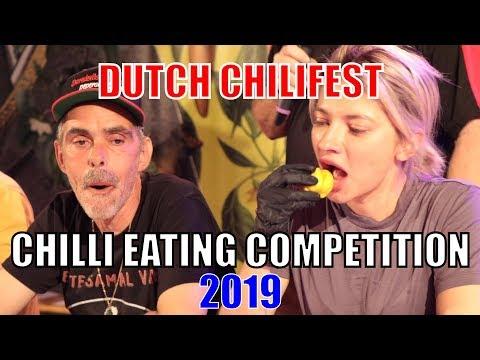 Chilli Eating Contest - Dutch ChiliFest (Eindhoven, Netherlands) 2019 🌶🔥🏆