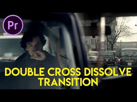Cara Editing Transisi Double Cross Dissolve (Sherlock Inspired)