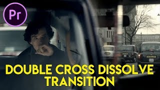 Cara Editing Transisi Double Cross Dissolve (Sherlock Inspired)