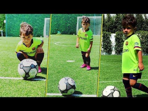 Mateo Messi - Son Like Father - Skills & Funny Moments