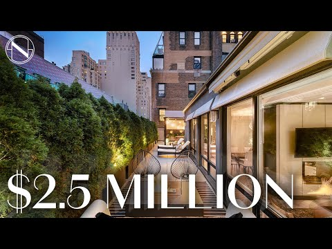 Inside A $2.5 MILLION Penthouse Oasis Near Central Park