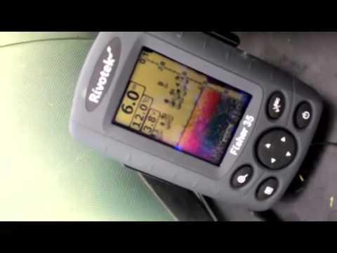 Эхолот Rivotek Fisher 20 Dual видео обзор - YouTube