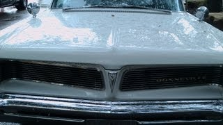 1963 Pontiac Bonneville Convertible Wht NSmyr090812