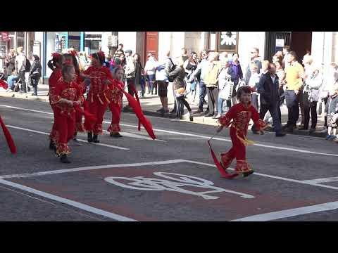 Celebrate Aberdeen Parade 2018 - Union Street.